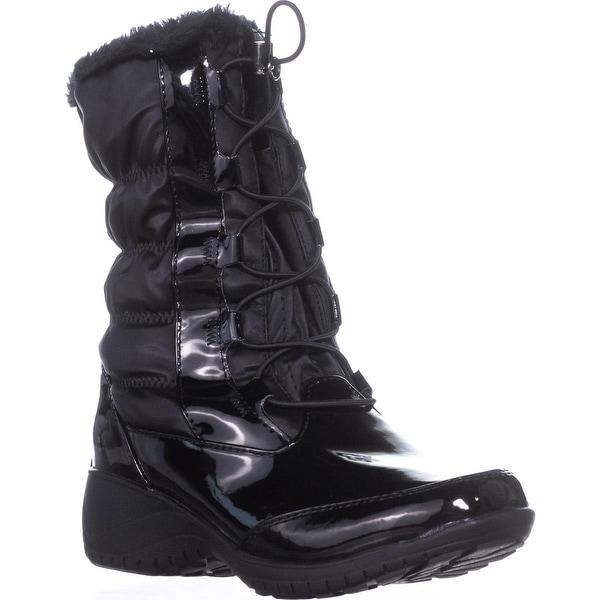 Khombu Bella Waterproof Winter Boots, Black