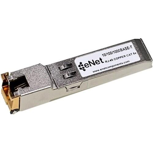 """""""ENET 10050-ENC Extreme Compatible 10050 10/100/1000BASE-T SFP 100m RJ45 Copper Cat5/Cat5e/Cat6 100% Tested Lifetime Warranty"""