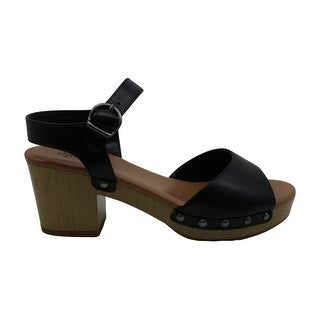 Style & Co. Womens Anddreas Leather Peep Toe Casual Slingback Sandals