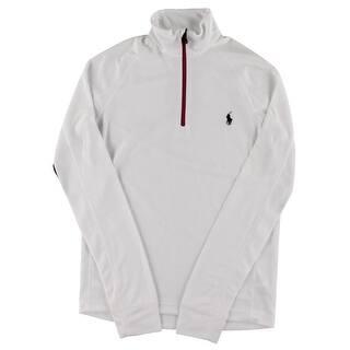 Polo Ralph Lauren Mens 1/4 Zip Jacket Perforated Monogram|https://ak1.ostkcdn.com/images/products/is/images/direct/991eeef858467d658a33ec367e76d0324f34d84a/Polo-Ralph-Lauren-Mens-1-4-Zip-Jacket-Perforated-Signature.jpg?impolicy=medium