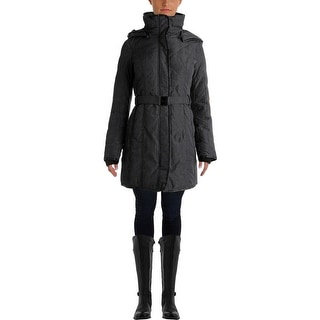 Kensie Womens Quilted Down Parka - XS