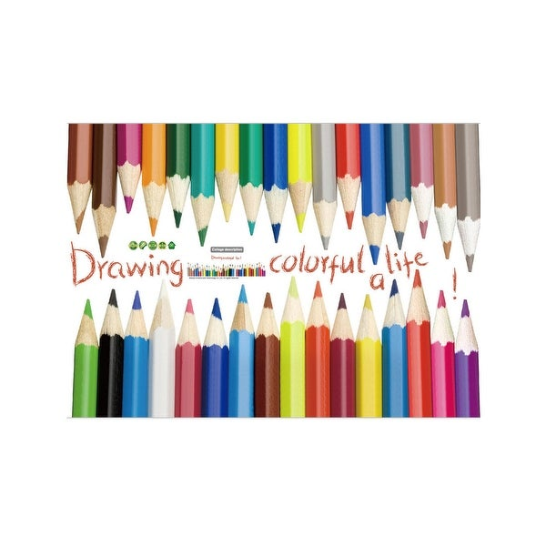 Multi-color Wall Stickers Self-stick Art Decal for Living Room Bedroom
