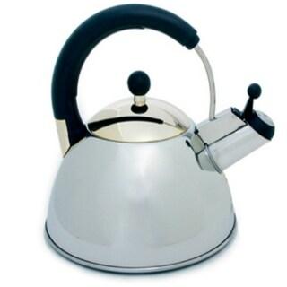 Norpro 5628 Whistling Tea Kettle, Stainless Steel, 2.5-Liter