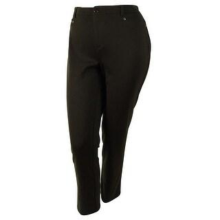 JM Collection Women's Slim Leg Pants