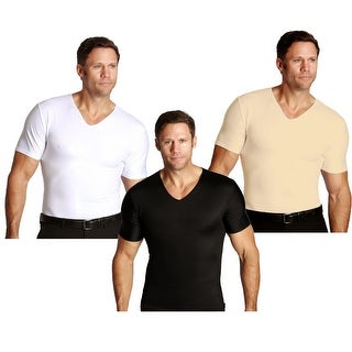 Insta Slim V-Neck Firming Compression Slimming Under Shirt