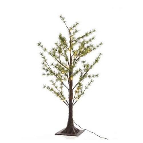 LED Green Pine Twig Tree