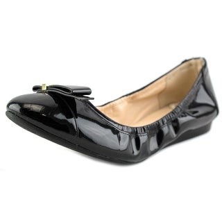 Cole Haan Tali Hardware Ballet C Round Toe Patent Leather Ballet Flats