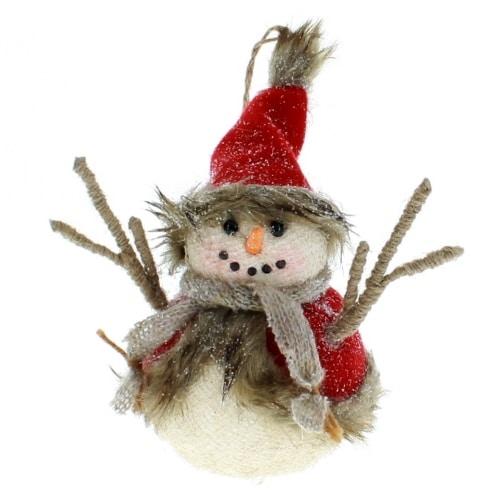Snowman Fur Glisten