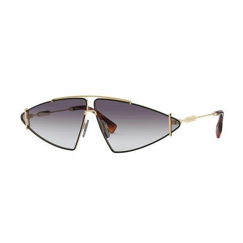 Burberry BE3111 10178G 68 Gold Woman Irregular Sunglasses