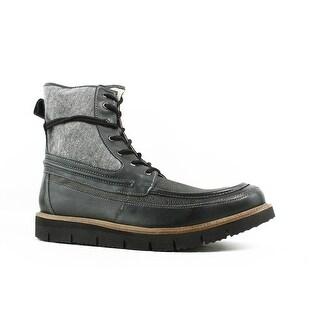 Steve Madden Mens Redmund-001 Gray Ankle Boots Size 12