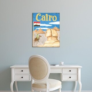 Easy Art Prints Megan Meagher's 'Cairo' Premium Canvas Art