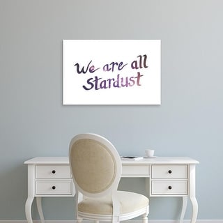 Easy Art Prints 'Stardust III' Premium Canvas Art