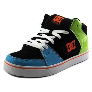 DC Shoes Patrol Men Round Toe Leather Black Skate Shoe