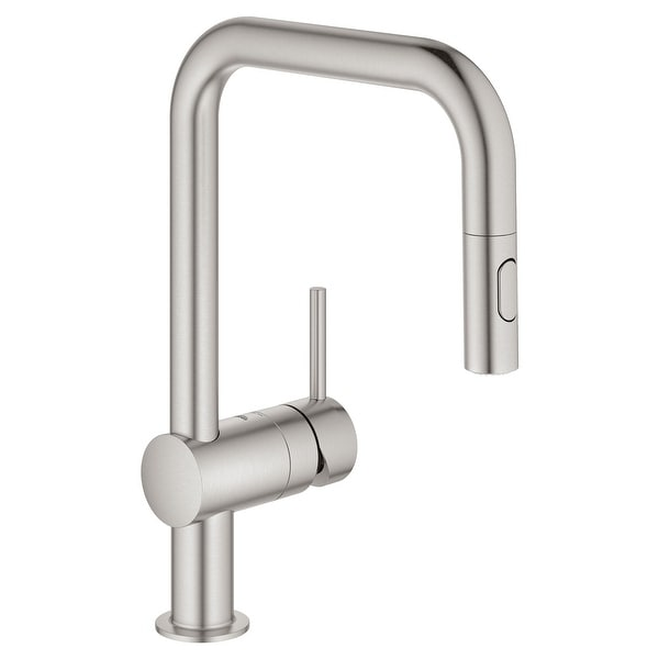 Grohe 32 319 3 Minta 1.75 GPM Single Hole Pull Down Kitchen Faucet