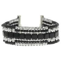 Patchworks Loom Bracelet - Midtown - Exclusive Beadaholique Jewelry Kit