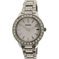 Fossil Women's Jesse  Silver Stainless-Steel Quartz Fashion Watch