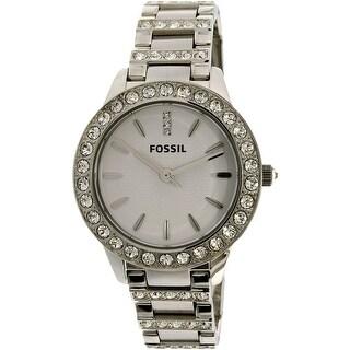 Fossil Women's Jesse ES2362 Silver Stainless-Steel Quartz Fashion Watch