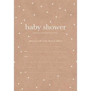 "Baby Shower - Kaiser Style Invitation Pack 5""X7"""
