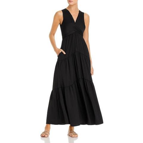Kobi Halperin Womens Courtnie Maxi Dress Sleeveless Evening