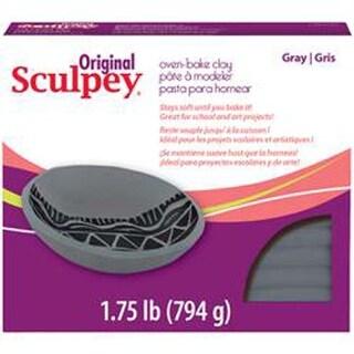 Gray - Sculpey Original Polymer Clay 1.75Lb