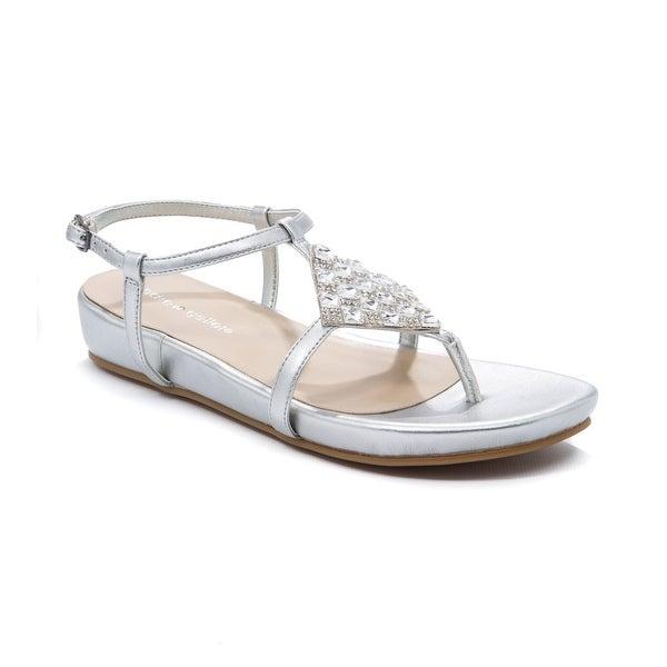 Andrew Geller Mareda Women's Sandals & Flip Flops Silver