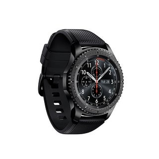 Samsung Gear S3 Frontier Smartwatch (Large Band/Dark Gray)