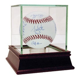 2013 Boston Red Sox Multi Signed () WS Ball (MLB Auth) (SSM Multi Signed Letter)