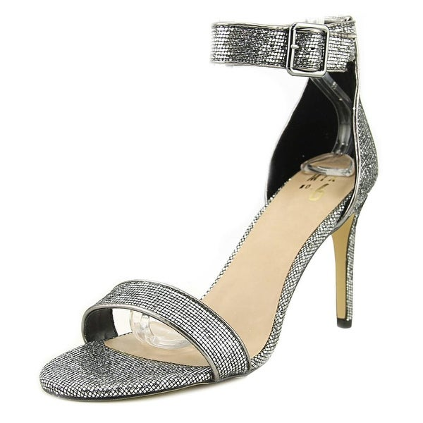 Mix No 6 LAELA Women Open Toe Synthetic Silver Sandals