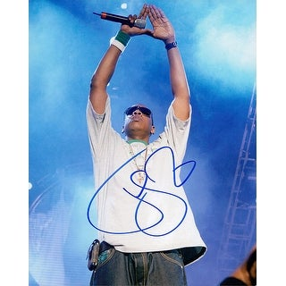 Signed Jay Z 8x10 Photo autographed