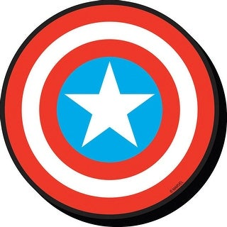 Captain America Shield Magnet, Cartoons Comics by NMR Calendars