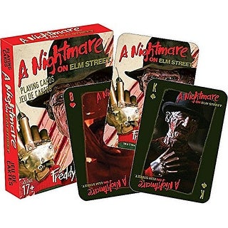 Nightmare on Elm Street Playing Cards - multi