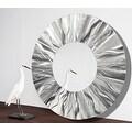 Statements2000 Silver Metal Decorative Wall-Mounted Mirror by Jon Allen - Mirror 105 - Thumbnail 13