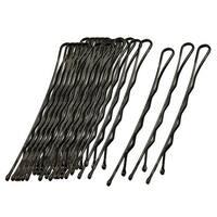 Unique Bargains 36 Pcs x Women Black Metal Barrette Clip Hair Bob Pin 5.5cm Length