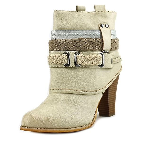 Dolce by Mojo Moxy Brigade Women Cream Boots