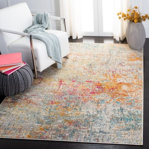 SAFAVIEH Madison Loane Modern Abstract Rug