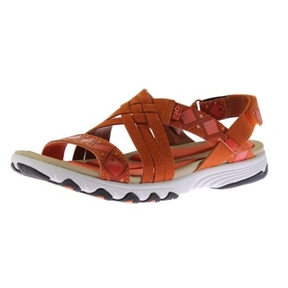Ryka Womens Strappy Casual Sport Sandals - 9.5 wide (c,d,w)
