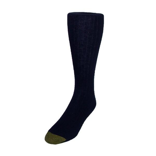 Gold Toe Men's Edinburgh Merino Wool AquaFX Dress Socks, Shoe Size 6 - 12 1/2
