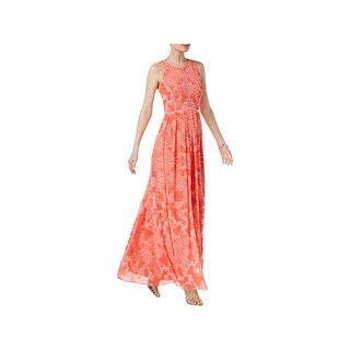 Vince Camuto Womens Maxi Dress Crepe Sleeveless