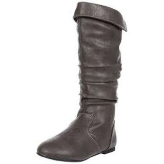 Kenneth Cole Reaction Girls jump dip bn Knee High Pull On Wedge Boots - 1.5 youth