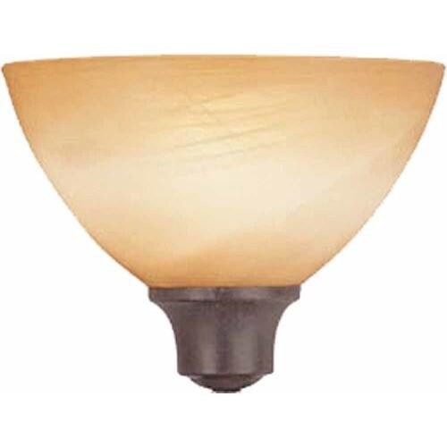 Volume Lighting Gs 264 Altamonte 4 Height Amber Alabaster Glass Bowl Shade