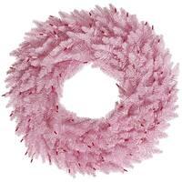 """48"""" Pink Fir Wreath  480T"""