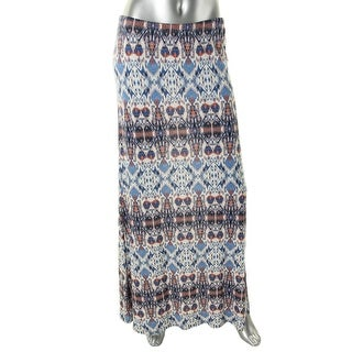 Karen Kane Womens Jersey Pattern Maxi Skirt