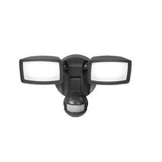 Consumer MST1850L Motion-Activated 180° Dual-Position LED Floodlight, Bronze