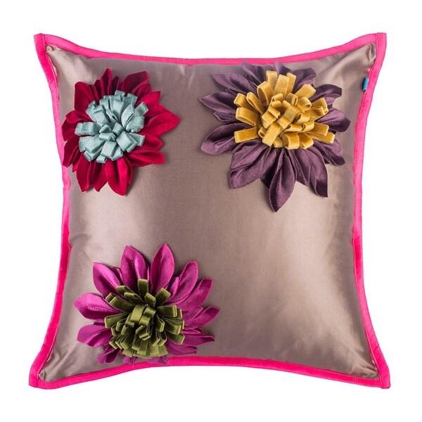 Shop Floral Textured Cotton Decorative Boho Handmade Throw