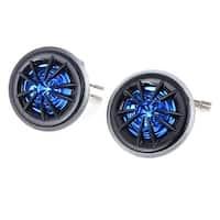 """Unique Bargains 2 Pcs Black Blue 150W Flush Mount 2"""" Dia Dome Tweeters Speakers for Car"""