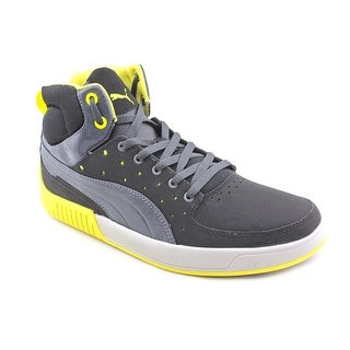 Puma Street Mid Men  Round Toe Leather  Sneakers