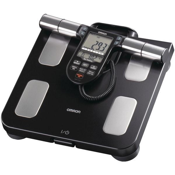 Omron Hbf-516B Full-Body Sensor Body Composition Monitor & Scale (Black)