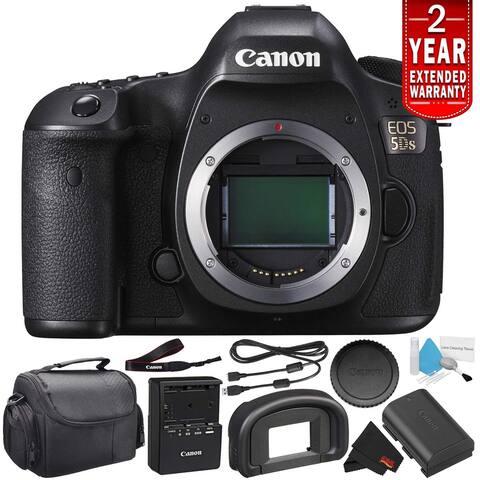 Canon EOS 5DS Digital SLR Camera 0581C002 (Body Only)- Starter Bundle