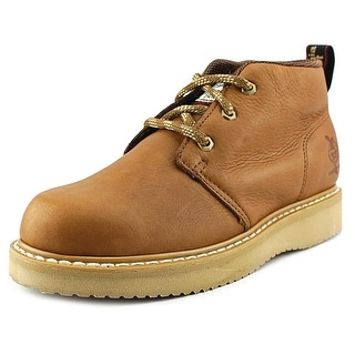 Georgia GB1222 Chukka Wedge Men Round Toe Leather Work Boot