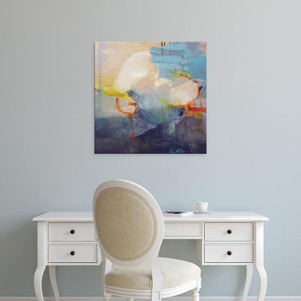 Easy Art Prints Lina Alattar's 'Above the Clouds' Premium Canvas Art
